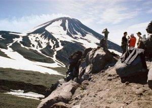 Steinfakel von Kamchatka