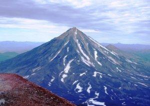 Vulkan Mutnowsky - der Fluß Bistraja - Vulkan Awachinsky